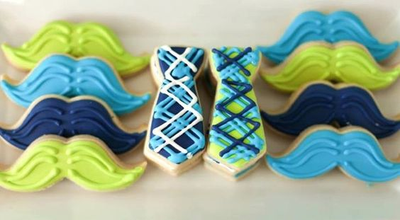 biscoitos festa bigode
