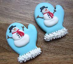 bolachas natal boneco de neve