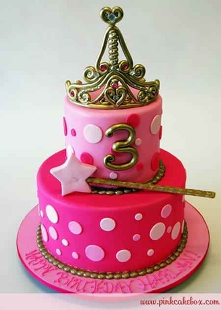 bolo aniversário menina