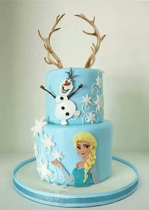 Bolo Aniversario Frozen Bolos De Aniversrio Decorados