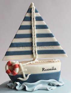 bolo barco marinheiro