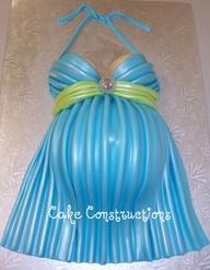 bolo barriga gravida azul (2)