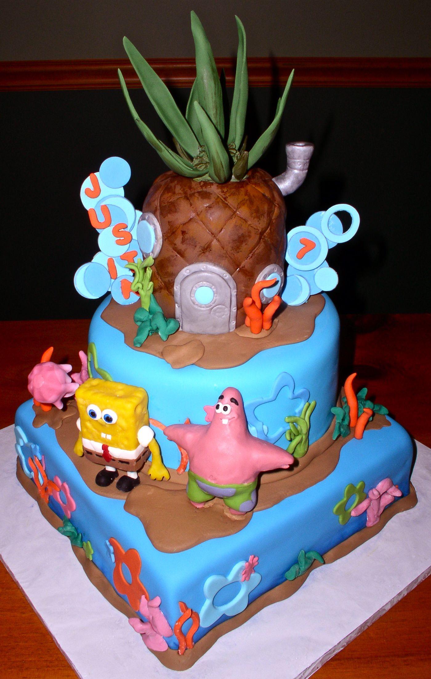 Bolos Decorados Do Spongebob
