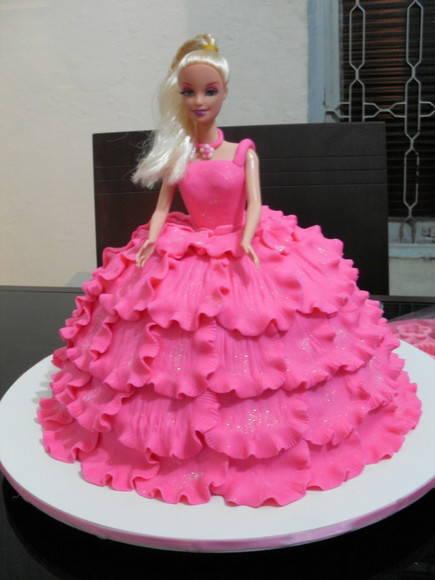 bolo boneca barbie1