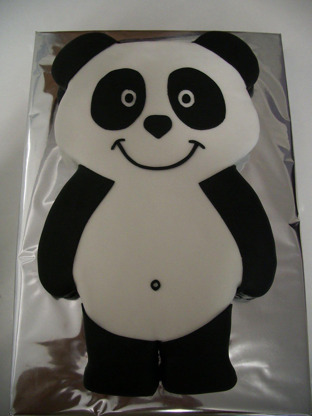 bolo canal panda Bolos decorados do Panda