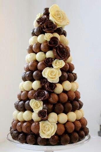 bolo casamento chocolate 11