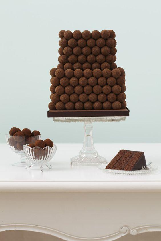 bolo casamento chocolate 13