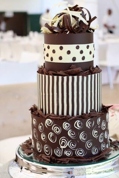 bolo casamento chocolate 5