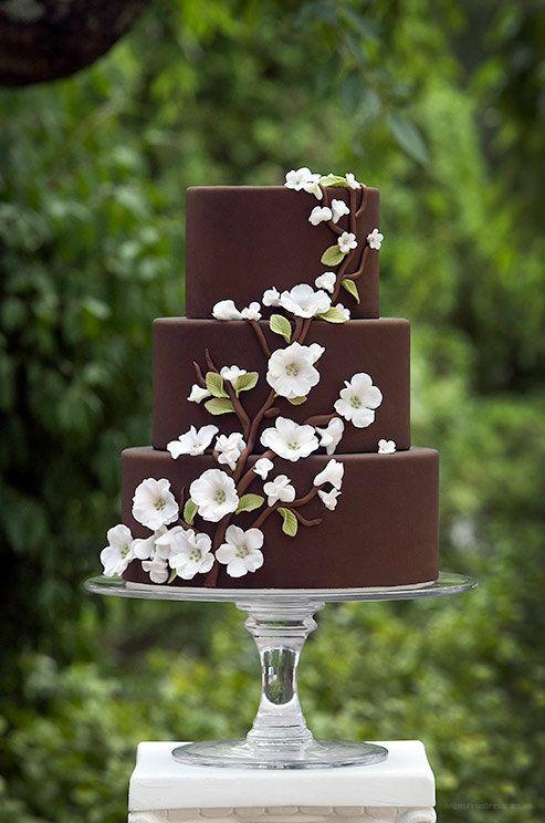 bolo casamento chocolate 6