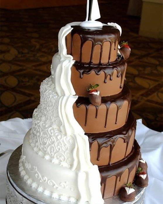 bolo casamento chocolate 7