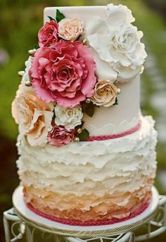 bolo casamento decorado