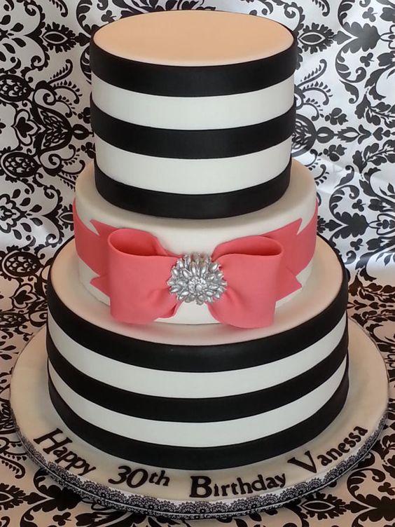 bolo casamento noiva preto branco 12