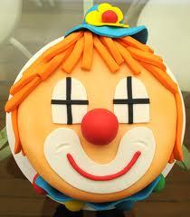 bolo circo palhaço