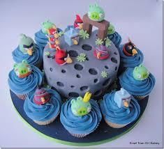 bolo cupcakes angry birds