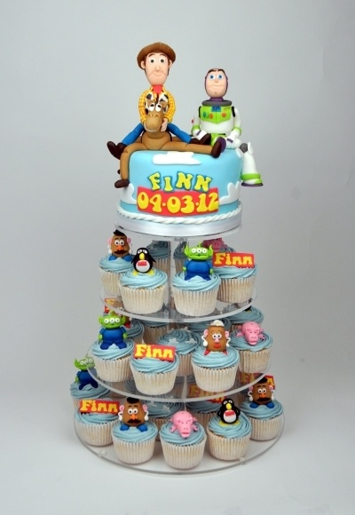 bolo cupcakes toy story