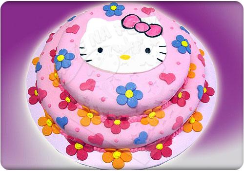 bolo de aniversário infantil hello kitty