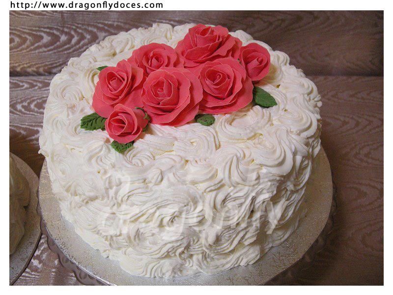 bolo de chantilly simples