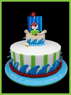 bolo de menino marinheiro