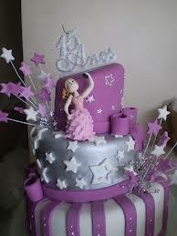 bolo debutante decorado estrela