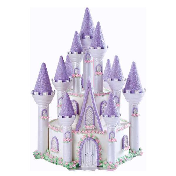 bolo decorado castelo