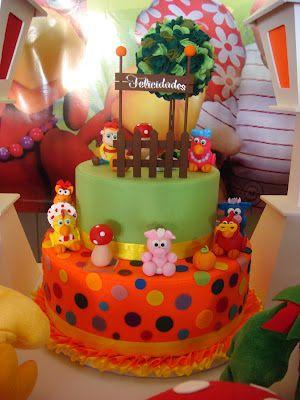 bolo decorado cocorico