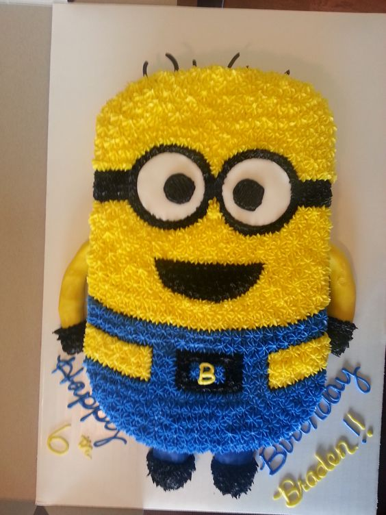 bolo decorado minions 2