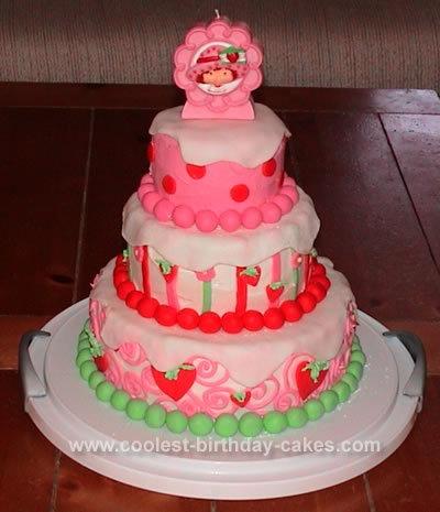 bolo decorado moranguinho
