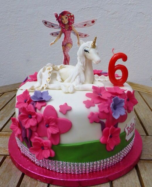 bolo decorado mundo mia 1