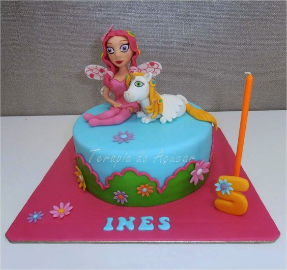 bolo decorado mundo mia 12