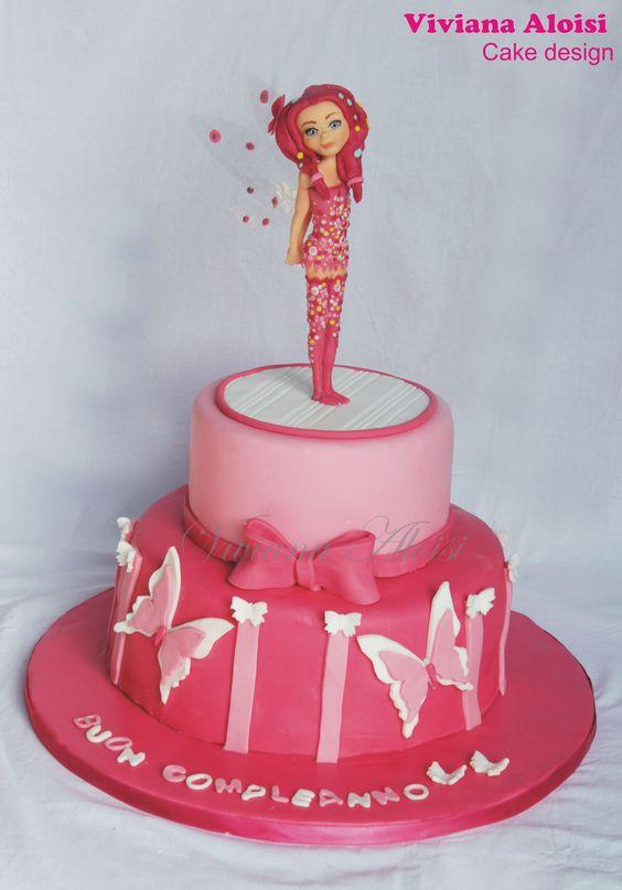 bolo decorado mundo mia 8