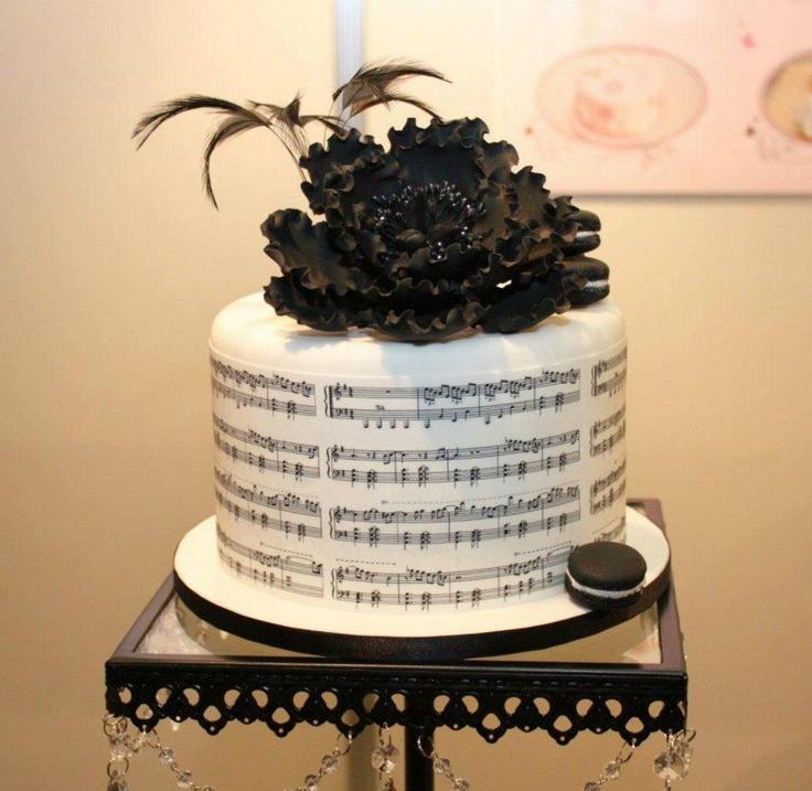 Music Themed Cakes Uk