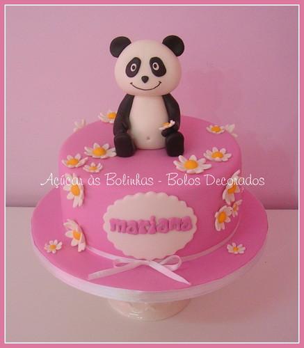 Bolos decorados do Panda