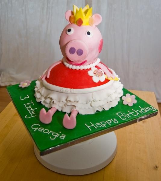 bolo decorado peppa pig