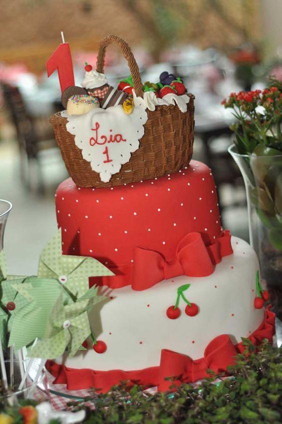 bolo decorado picnic 2