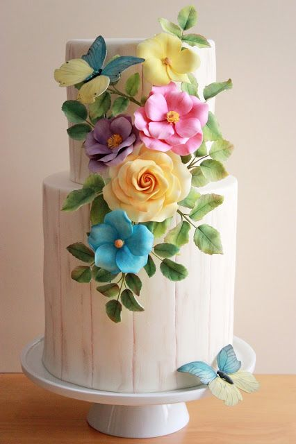 bolo decorado primavera 10