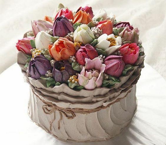 bolo decorado primavera 3