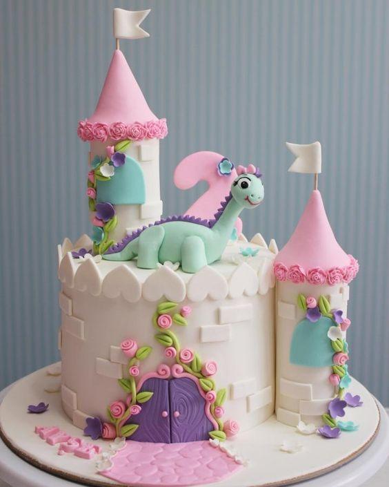 bolo decorado princesa 1
