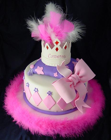 bolo decorado princesa penas