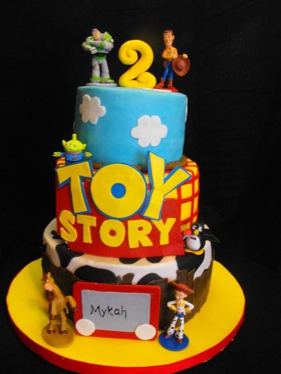 bolo decorado toy story