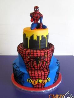 bolo do hoem aranha
