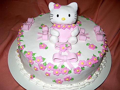 bolo festa infantil hello kitty