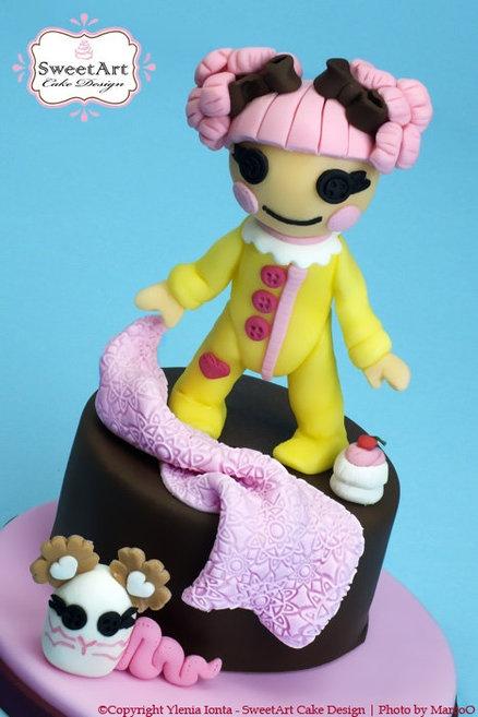 bolo festa lalaloopsy