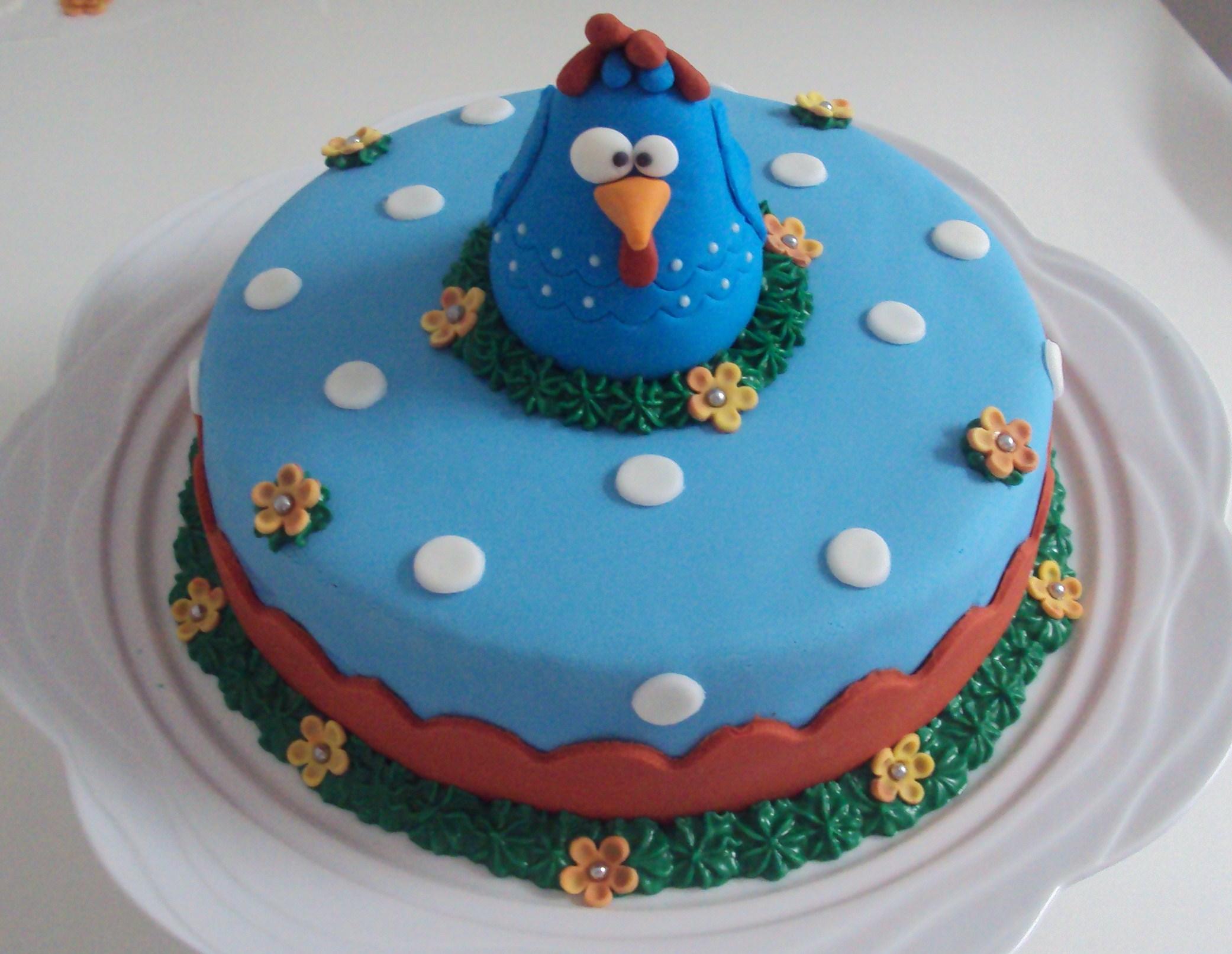bolo galinha pintadinha