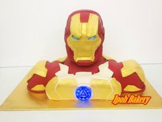 bolo homem de ferro infantil