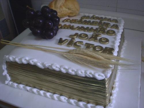 bolo livro 1 comunhao