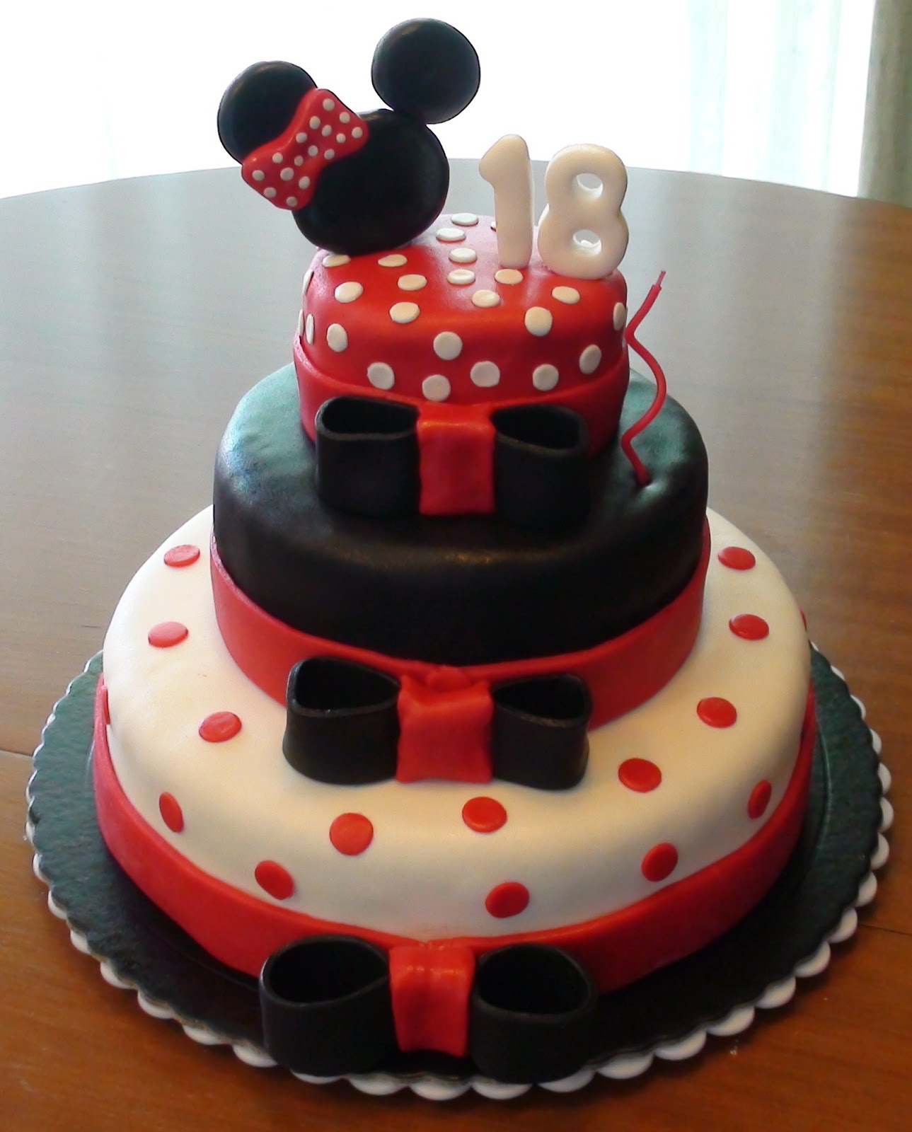 Pin Festa Da Minnie Rosa Wallpapers Real Madrid Pelautscom Cake on ...