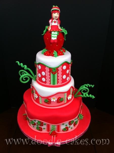 bolo moranguinho vermelho