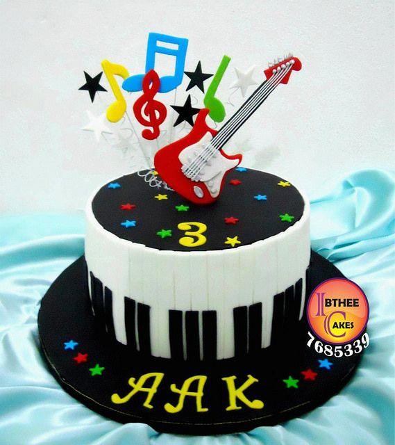 Cake Design Para Homem : Bolos Decorados M?sica