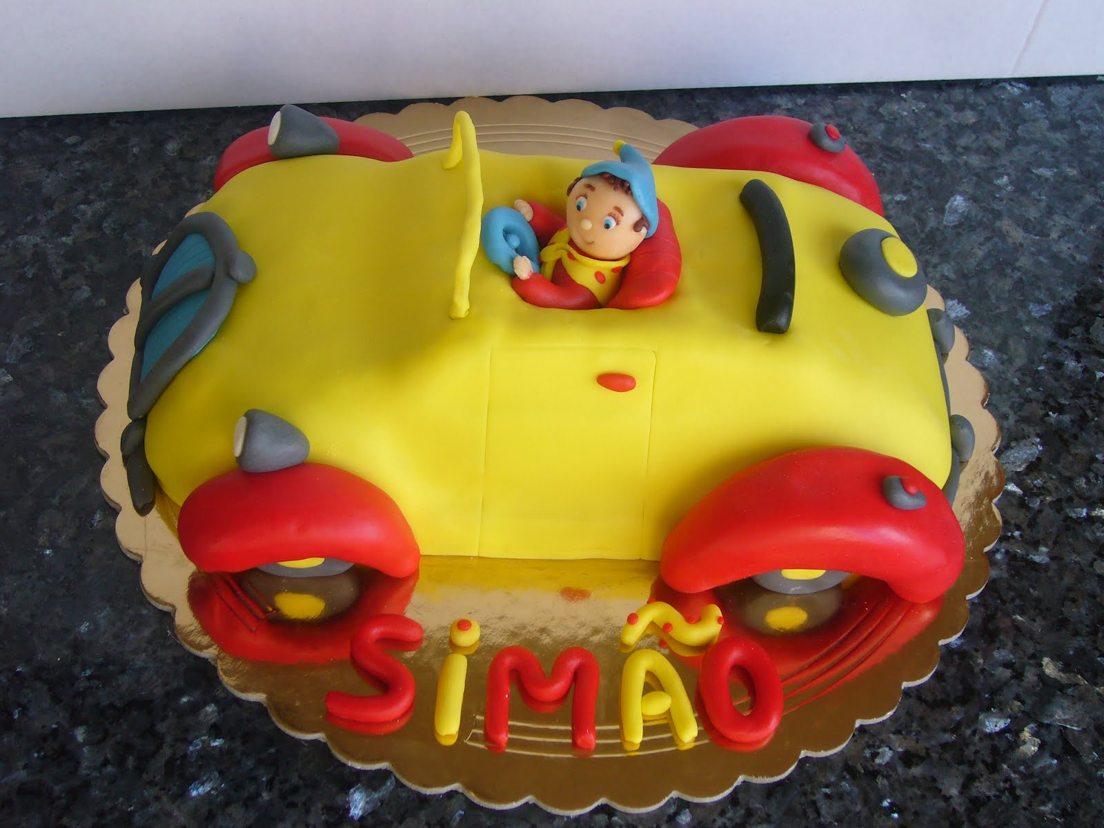 bolo noddy Bolo de aniversário rapaz