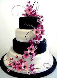 bolo noiva com flores naturais